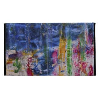 Färgrik abstrakt Konst-Mor och barn