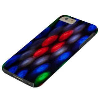 Färgrik abstraktion av ljust tough iPhone 6 plus skal