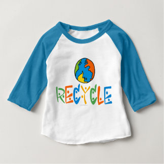 Färgrik återvinning tröja