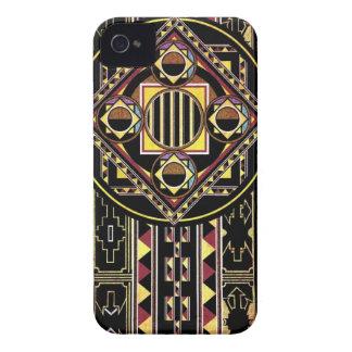 Färgrik Aztec konst iPhone 4 Case-Mate Cases