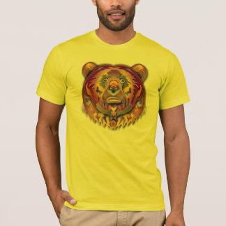 Färgrik björn t shirt