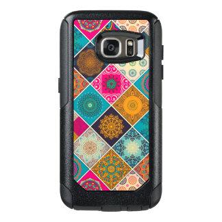 Färgrik bohemisk MandalaPatchwork OtterBox Samsung Galaxy S7 Fodral