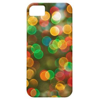 Färgrik Bokeh abstrakt iPhone 5 Case-Mate Skydd