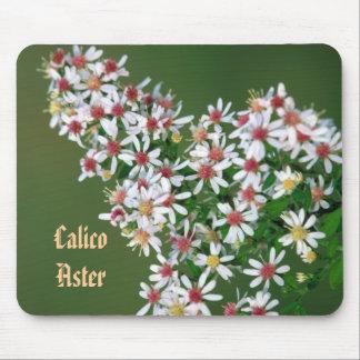 Färgrik CalicoAster Mousepad Musmatta