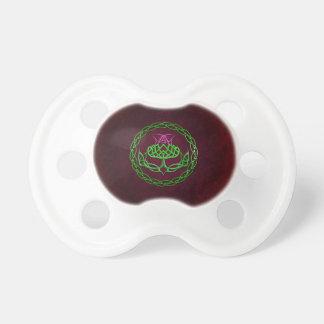 Färgrik Celtic fnurraThistle Napp