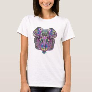 Färgrik elefant tee shirt