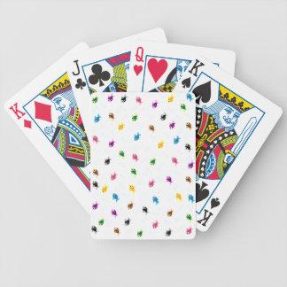färgrik fisk spelkort