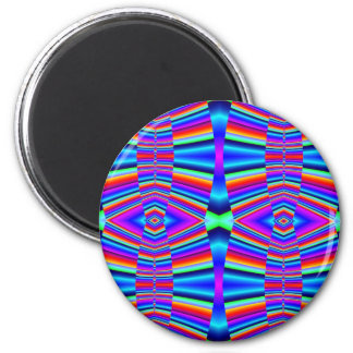 Färgrik fractal magnet