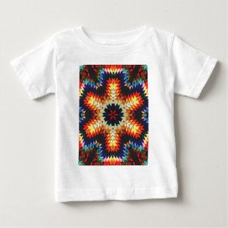 Färgrik geometrisk abstrakt tshirts
