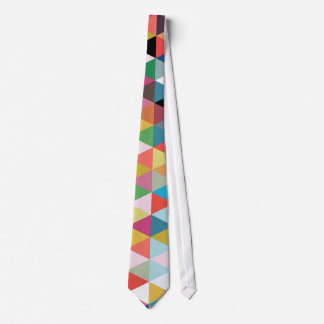 Färgrik geometrisk Kaleidoscope mönstrad Tie Slips