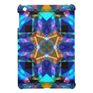 Färgrik geometrisk Mandala iPad Mini Skydd