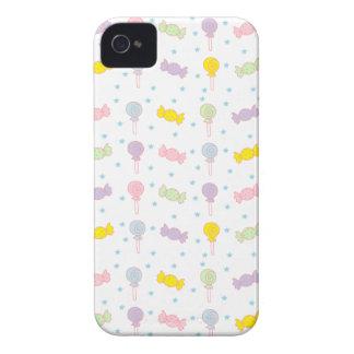 Färgrik godis och stjärnor Case-Mate iPhone 4 skydd