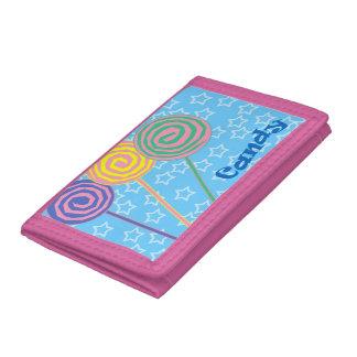 Färgrik godisdesignplånbok