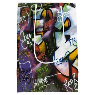 Färgrik grafittiord