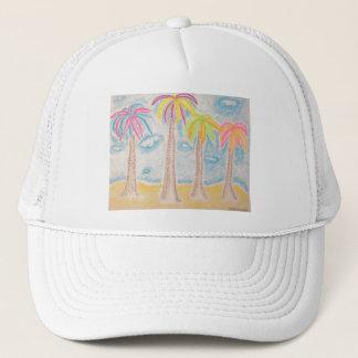 Färgrik Handflatan-hatt Keps