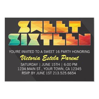 Färgrik inbjudan för sötsak 16