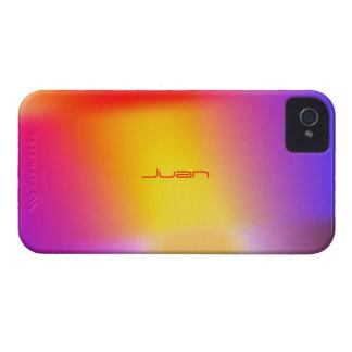 Färgrik iPhone 4 täcker för Juan iPhone 4 Case-Mate Skal