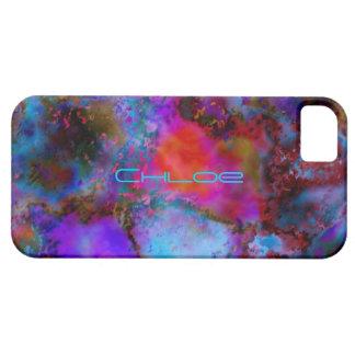 Färgrik iphone 5 för Chloe smartphonecases täcker Barely There iPhone 5 Fodral