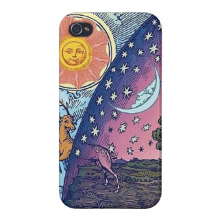 Färgrik iphone case för konstigabstraktcoola iPhone 4 cases
