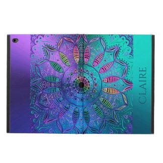 Färgrik kall Hued metallisk Mandalapersonlig Powis iPad Air 2 Skal