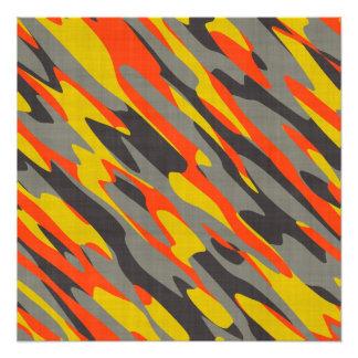 Färgrik kamouflagestruktur foto