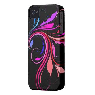 Färgrik krusidull iPhone 4 hud