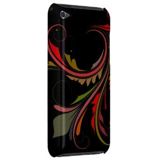 Färgrik krusidull iPod touch skydd