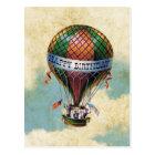 Färgrik luftballonggrattis på födelsedagen för vykort