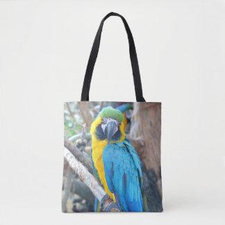 Färgrik Macawpapegoja Tygkasse