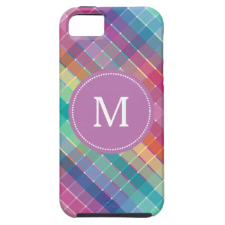 Färgrik multifärgadregnbågeCrosshatch Tough iPhone 5 Fodral