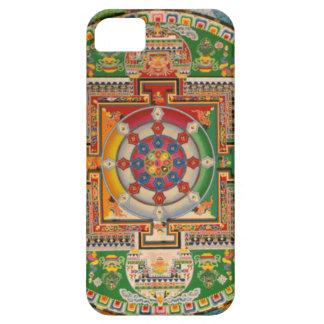Färgrik och unik buddistisk Mandalaiphone case iPhone 5 Fodral