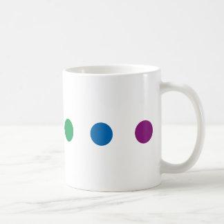 Färgrik regnbågedesign för pride | kaffemugg