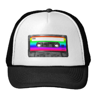 Färgrik regnbågekassett kepsar