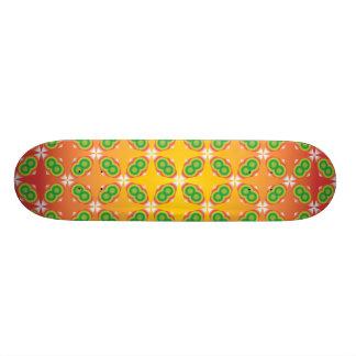 färgrik skateboard