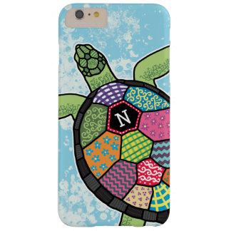 Färgrik sköldpadda för hav för barely there iPhone 6 plus fodral