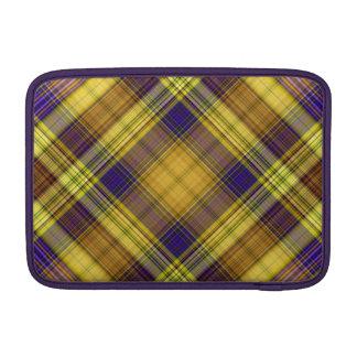 Färgrik sleeve för Madras plädMacBook luft
