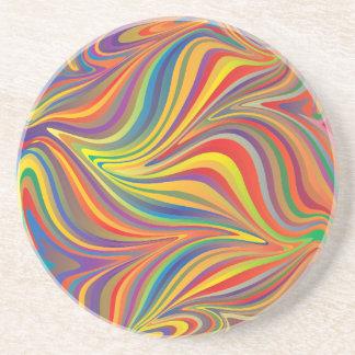 färgrik sphere underlägg sandsten