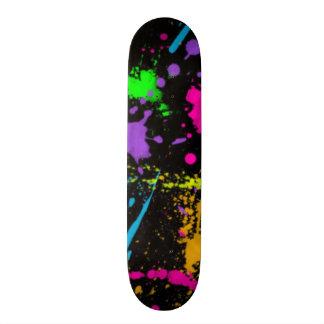 Färgrik stänkSkateboard Skateboard Bräda 21,5 Cm