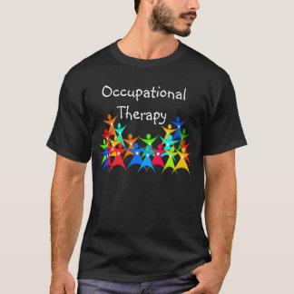 Färgrik T-tröja för yrkes- terapi T Shirts
