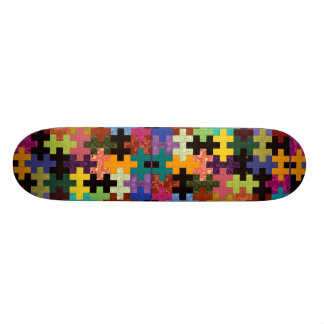 Färgrik täckemönsterSkateboard Skateboard Bräda 21,5 Cm