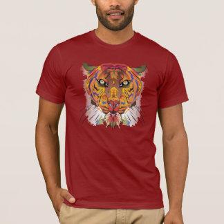 Färgrik tiger tshirts