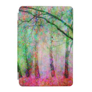 Färgrik trädväg iPad mini skydd