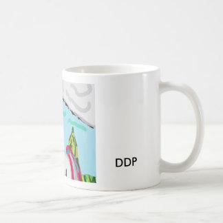 Färgrik Unicorn Kaffemugg