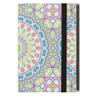Färgrik vårMandalamedaljong iPad Mini Fodral
