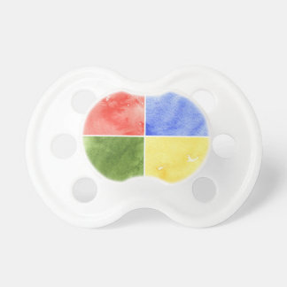 färgrik vattenfärgbakgrund för din design napp