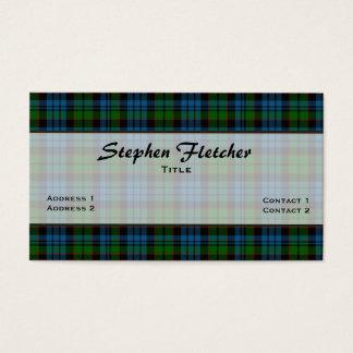 Färgrik visitkort för Fletcher plädanpassningsbar
