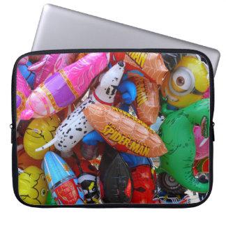 Färgrika ballonger laptop fodral