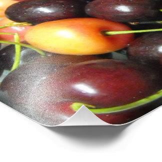 Färgrika blandade tryck för körsbärmatfotografi fototryck