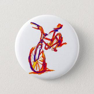 Färgrika cykeldesigner standard knapp rund 5.7 cm