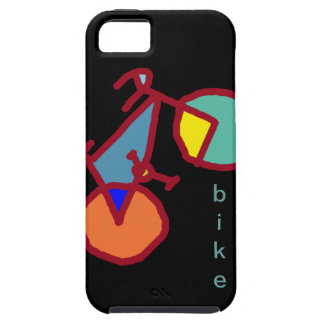 färgrika cyklar iPhone 5 cover